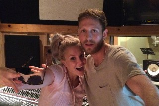 Britney Spears Hits The Studio With Producer BURNS & Songwriter Mischke Butler