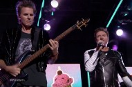 Duran Duran Joined On 'Jimmy Kimmel Live' Stage By Mr Hudson: Watch Their Performance
