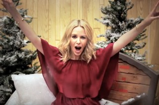 Kylie Minogue Gives Behind-The-Scenes Look At The Making Of 'Kylie Christmas': Watch