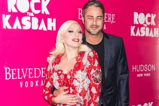 Lady Gaga And Taylor Kinney Look Loved-Up At 'Rock The Kasbah' Premiere: 6 Photos