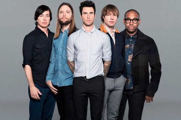 Maroon 5 2014 Adam Levine