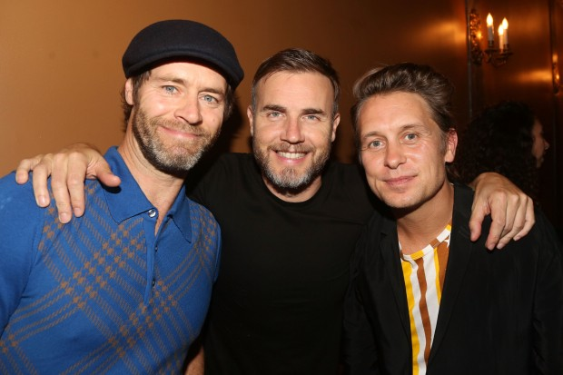 Take That 2015 Gary Barlow Mark Owen Howard Donald