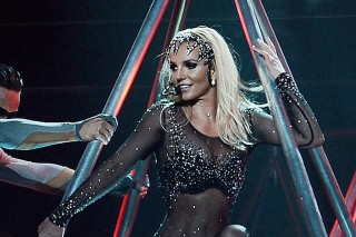 Britney Spears Suffers Wardrobe Malfunction During Las Vegas Performance: Watch