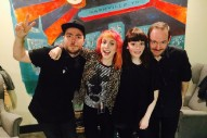 Watch Chvrches Perform With Paramore's Hayley Williams