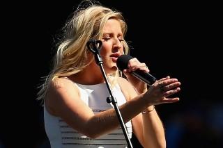 Ellie Goulding Fires Back At Lip-Sy