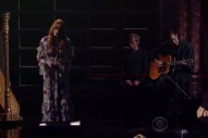 """Watch Florence + The Machine Strip Down """"What Kind Of Man"""" On 'Colbert'"""