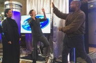 """Kanye West """"Auditions"""" For 'American Idol' — And Jennifer Lopez Approves: Watch"""