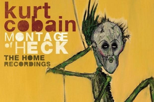 kurt cobain montage of heck home recordings solo album artwork cover