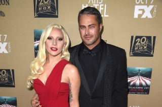 Lady Gaga Wows In Red At 'AHS: Hotel' Premiere Screening: 8 Photos