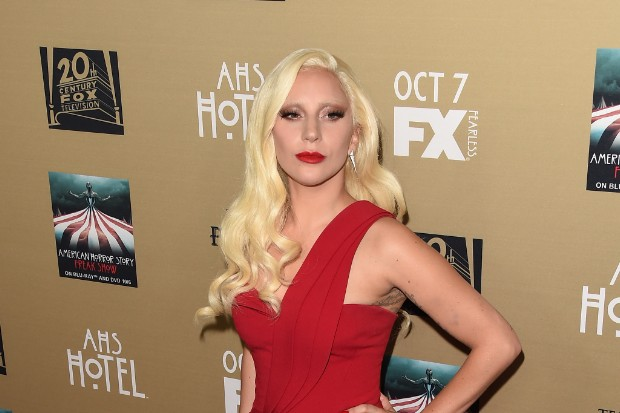 Lady Gaga Is Red-Hot On 'AHS: Hotel' Red Carpet