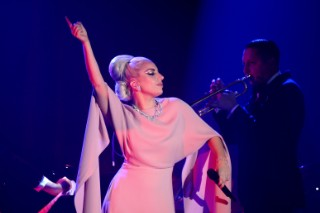 Lady Gaga Performs A Jazz Set At amFAR's Inspiration Gala: View The Photos