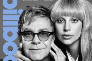 Lady Gaga & Elton John Cover 'Billboard' Philanthropy Issue, Gaga Opens Up About Depression