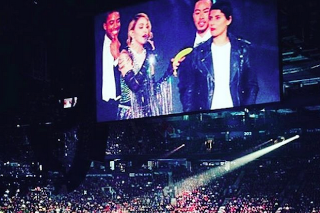 Madonna Pulls Nelly Furtado On Stage During 'Rebel Heart' Concert: Watch