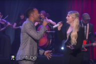 "Meghan Trainor Performs ""Like I'm Gonna Lose You"" With John Legend On 'Ellen': Watch"