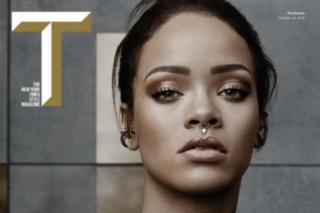 "Rihanna Covers 'T Magazine' For ""The Greats"" Issue"