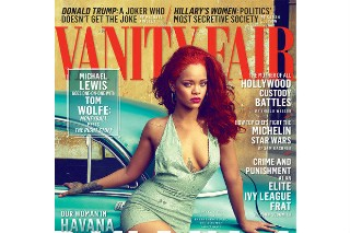 Rihanna Covers 'Vanity Fair,' Talks Chris Brown, Nipples (& Not R8): See Photos