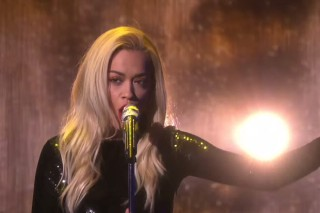 "Rita Ora Brings ""Body On Me"" To 'Ellen': Watch Her Cute Performance"