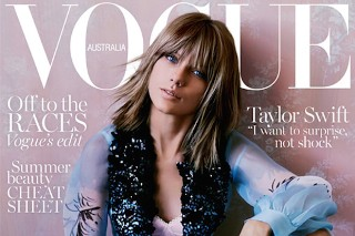 Taylor Swift Rocks Couture On The Cover Of 'Vogue Australia'