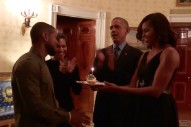 "Watch President Obama Sing ""Happy Birthday"" To Usher"