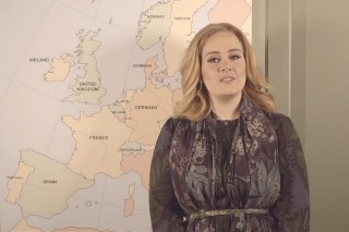 Adele Announces 36 European Tour Dates For 2016: Watch