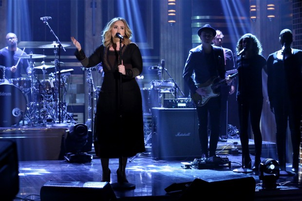 Adele Jimmy Fallon Tonight Show 25 Hello 2015