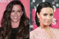 """Alanis Morissette & Demi Lovato To Perform """"You Oughta Know"""" At 2015 AMAs"""