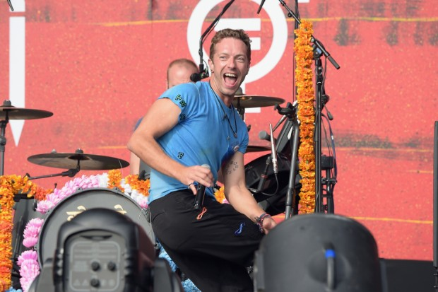coldplay 2015 global citizen festival live perform