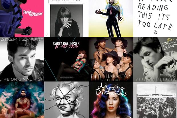 Idolator Best Albums 2015 Readers Poll Adam Lambert Madonna Marina