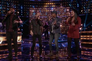 "'The Voice': Pharrell Performs ""Just A Cloud Away"""