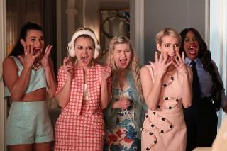 'Scream Queens' Recap: Nick Jonas Returns, Jamie Lee Curtis Re-Enacts 'Psycho' Shower Scene