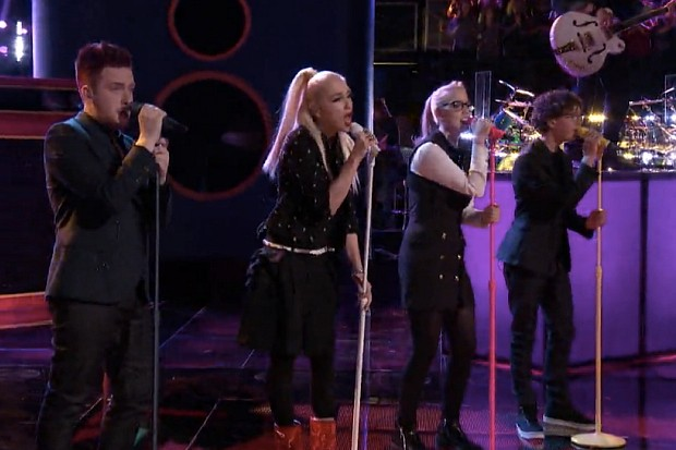 THe Voice Gwen Stefani You Get What You Give 2015 New Radicals