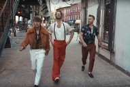 """Take That Re-Enact 'Saturday Night Fever' Opening Credits In """"Hey Boy"""" Video: Watch"""