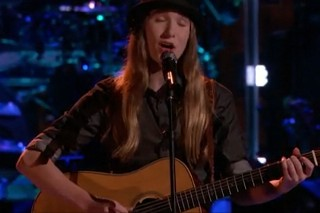 'The Voice': Sawyer Fredericks Returns & Performs During Live Results