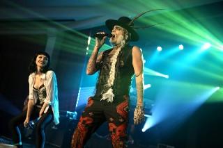 "Adam Lambert And Ivy Levan Cover Janet Jackson's ""Black Cat"" Live: Watch"