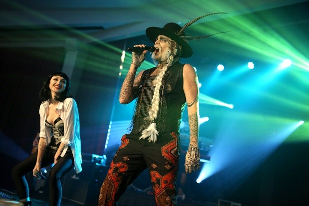 Hilton@PLAY Hosts Adam Lambert's Ghost Town Halloween Party At The Beverly Hilton
