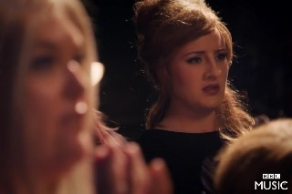 Adele Posed As An Adele Impersonator: Watch
