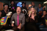 "Adele, Jimmy Fallon & The Roots Perform ""Hello"" With Classroom Instruments: Watch"