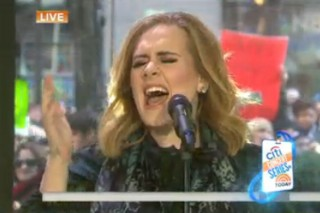 "Watch Adele Belt Out ""Million Years Ago"" On 'TODAY'"