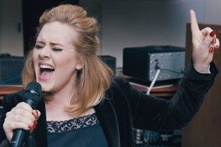 "Adele Performs New '25' Ballad, ""When We Were Young"" Live: Watch"