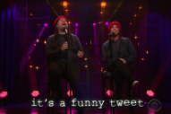 "Alanis Morissette Updates ""Ironic"" With 2015-Approved Lyrics On 'James Corden': Watch"
