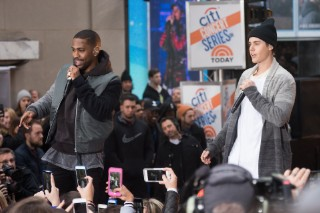 Justin Bieber Performs With Big Sean & Halsey On 'Today' Show: Watch