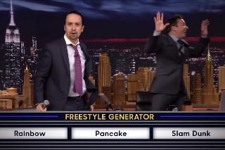 "'Hamilton""s Lin-Manuel Miranda Namechecks Drake In 'Tonight Show' Freestyle: Watch"