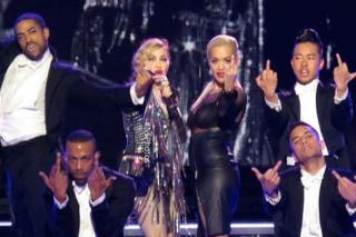 Madonna Spanks Rita Ora During Her Rebel Heart Concert In Berlin: Watch