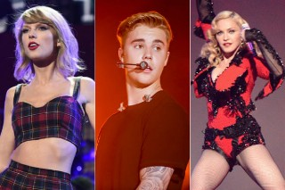 People's Choice Awards 2016: Taylor Swift, Justin Bieber & Madonna Score Nominations