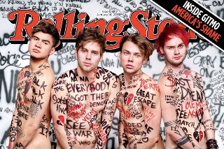 5 Seconds Of Summer Pose Nude For 'Rolling Stone,' Talk Writing With Chad Kroeger