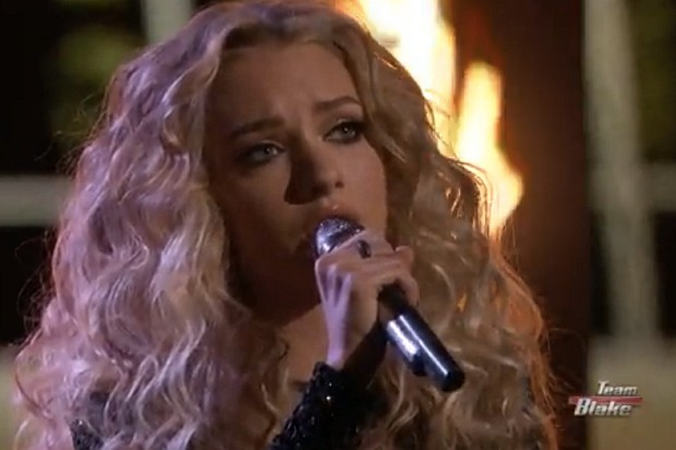 Emily Ann Roberts Cam Burning House The Voice 2015