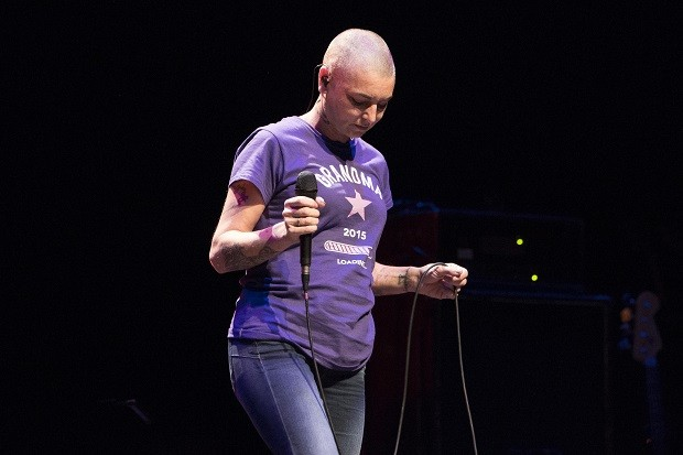 Sinead O'Connor Performs At The Barbican Centre In London