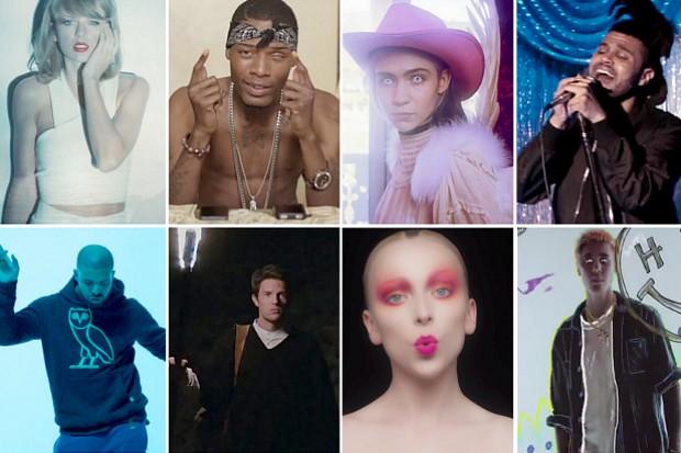 Idolator Best Pop Songs 2015 Taylor Swift Justin Bieber Drake Fetty Wap The Weeknd Brandon Flowers Grimes Asta