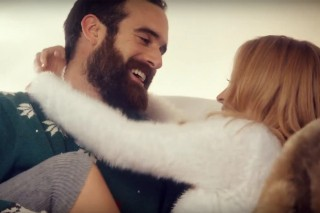 """Kylie Minogue's Adorable """"Every Day's Like Christmas"""" Video: Watch Her Frolic With Boyfriend Joshua Sasse"""