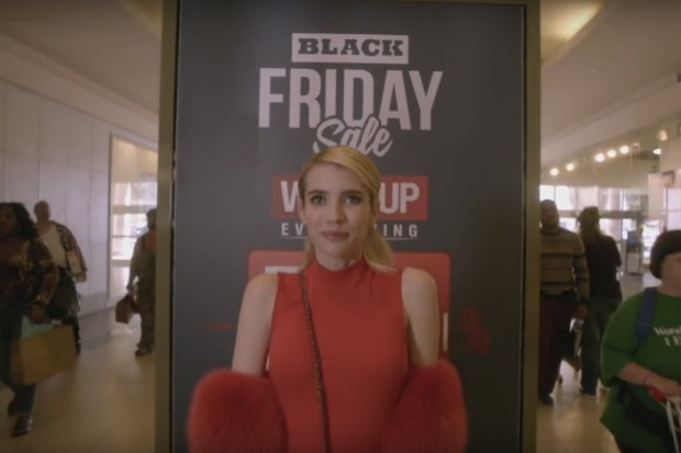 Scream Queens Black Friday Emma Roberts